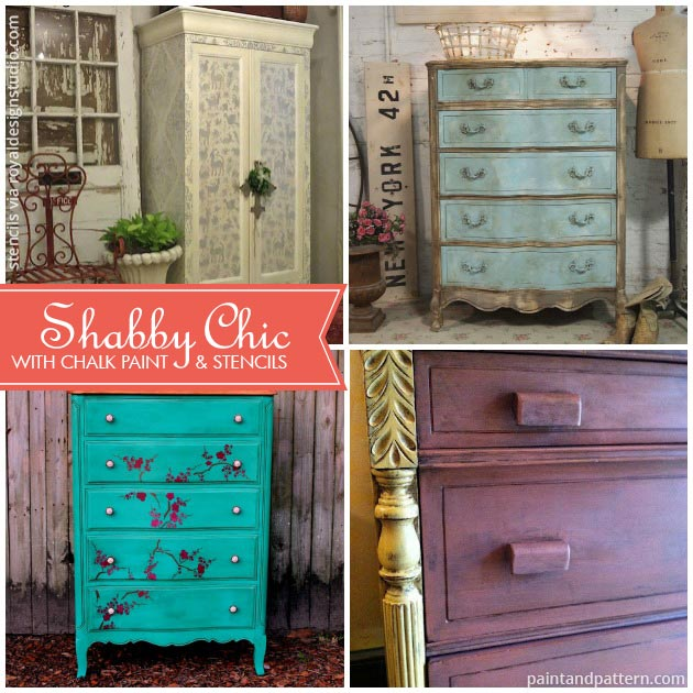 Chalk-Paint-Furniture-Shabby-Chic