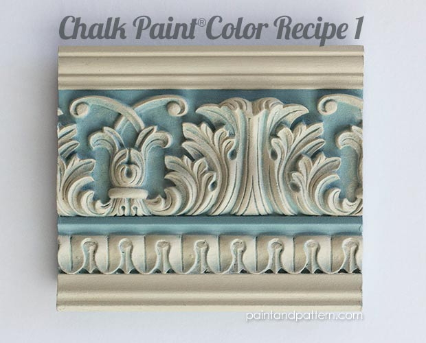 Chalk Paint Color Recipes for Carved Surfaces, Part 1 | Paint + Pattern