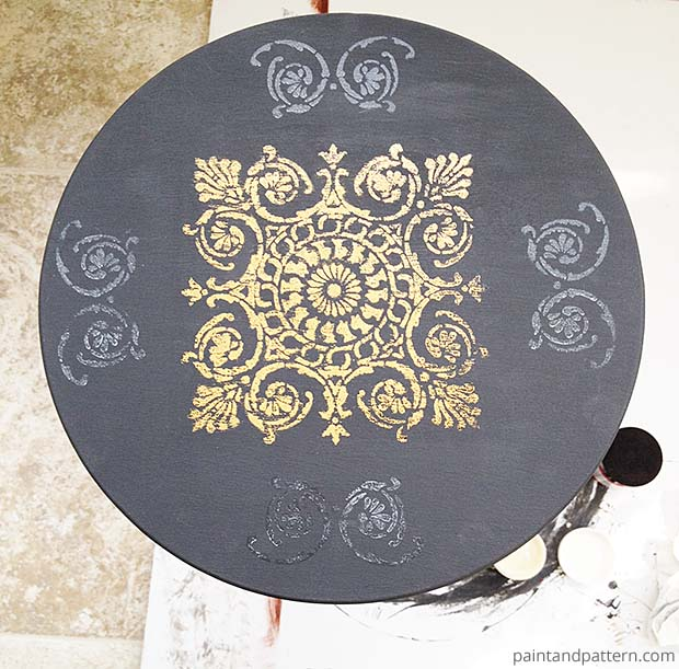Stencil Table DIY | Paint + Pattern