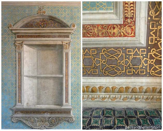 Borgia Apartment and Room of Mysteries   Paint + Pattern