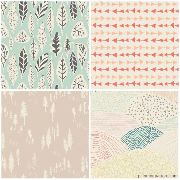 Hello Bear pattern collection by Bonnie Christine