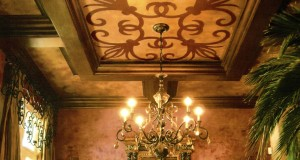 Marvelous Modello® Designs Stencils on Italian Plaster