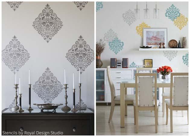 Motif Stencils by Royal Design Studio