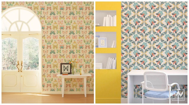 Bonnie Christine Wallpaper by Wallternatives | Paint + Pattern