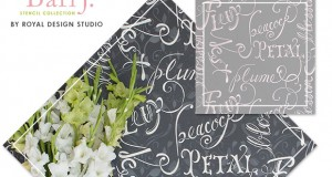 NEW Soft, Romantic Stencils from  Bari J