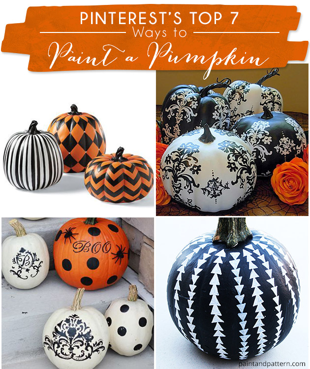 pinterest 39 s top 7 ideas for painting pumpkins paint