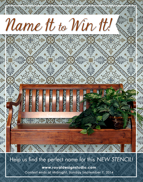 Name it to Win it from Royal Design Studio