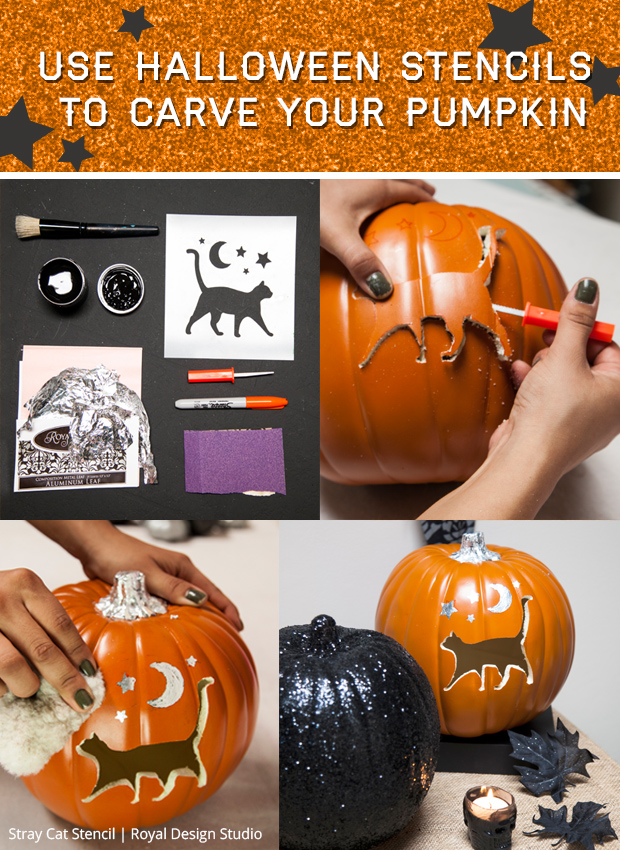 use-halloween-stencils-to-carve-your-pumpkin