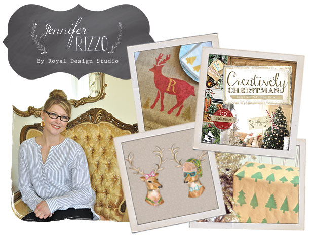 Jennifer Rizzo Stencil Collection for Christmas