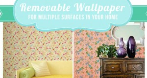 Removable Wallpaper for Multiple Surfaces in Your Home