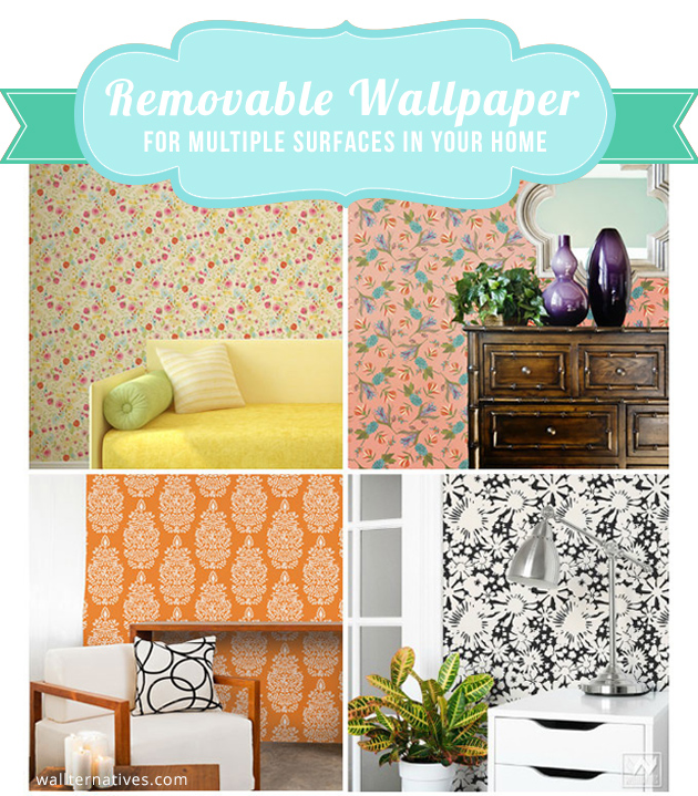 Removable Wallpaper by Wallternatives | Paint + Pattern