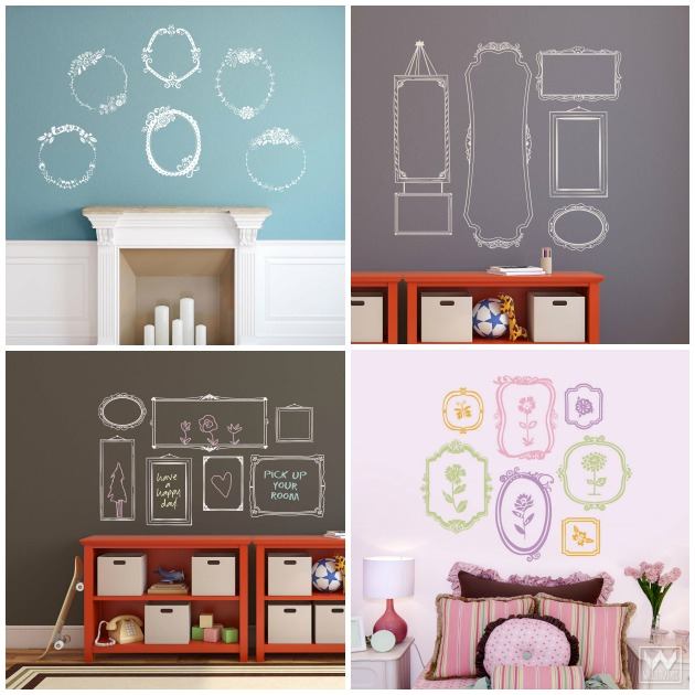 Wall frames are a great way to decorate any room. They can bring instant  character and life to dull, boring walls without much effort.