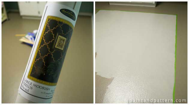How To Create Designer Flooring With Stencils Paint