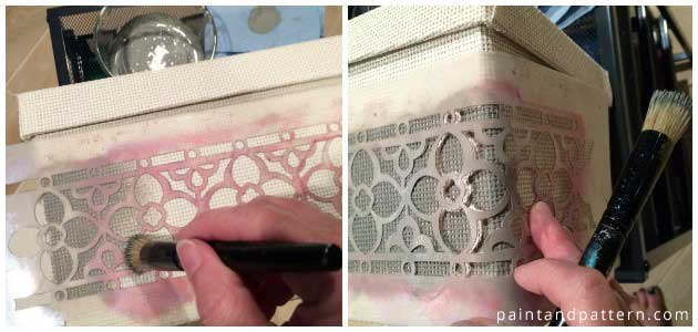 Flower Chain Border Stencil by Royal Design Studio | Paint + Pattern