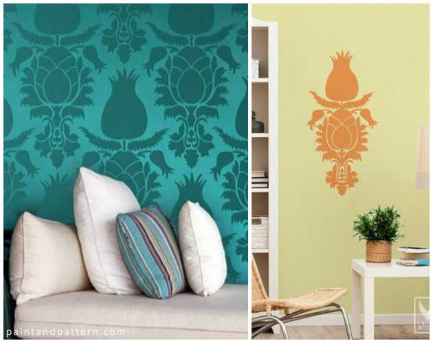 Tulip Stencil & Decal by Royal Design Studio