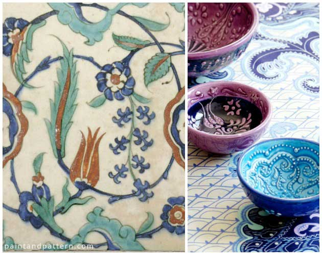 Tulip Tiles & Crockery | Paint + Pattern