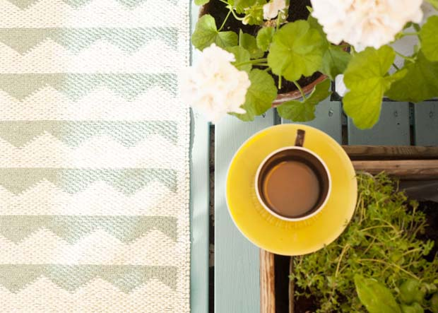 Scandinavian Textile via Brita Sweden | Paint + Pattern
