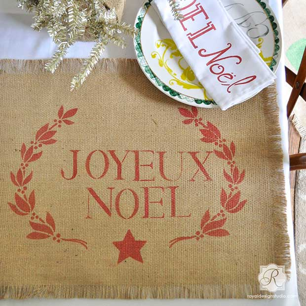 typogrpahy-garland-christmas-holiday-fabric-stencils