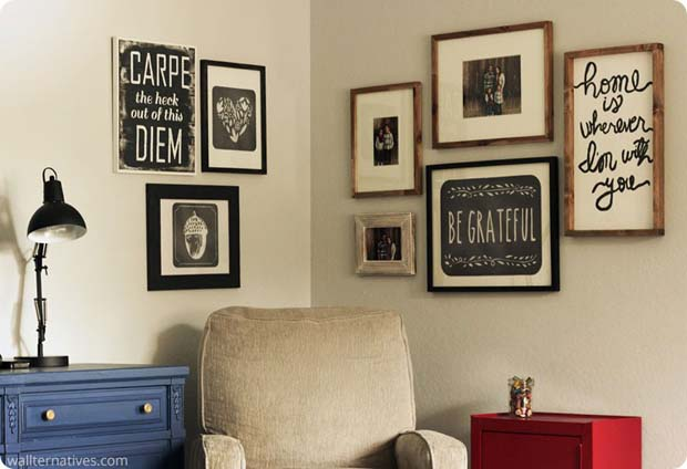 Black and White Fall Phrases Removable Wall Decals by Always in Wonder   Wallternatives
