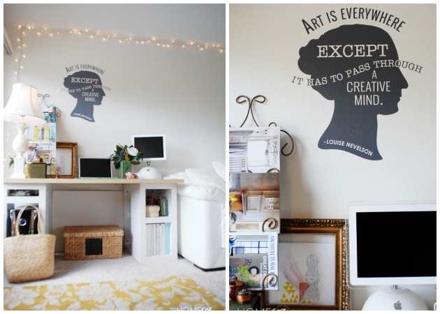 Art is Everywhere Vinyl Wall Decal | Wallternatives