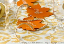 5 Adorable Thanksgiving Stencil Decor Ideas