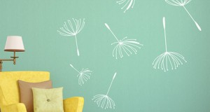 Blossoming Floral Wall Decal Décor Ideas