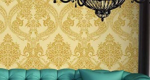 New Damask Stencil: Name it to Win it