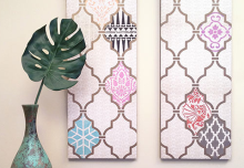 Top 6 Favorite DIY Stencil How To's from 2014!