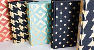 Beautify Your Books with Chalk Paint and Stencils!