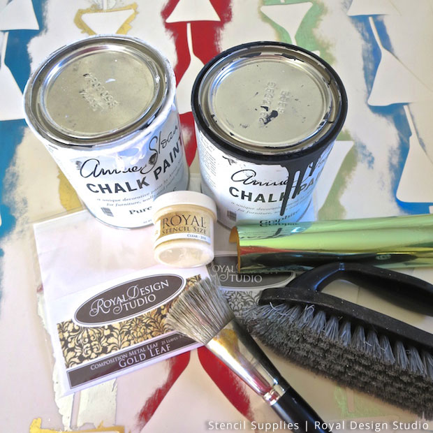 Stencil Supplies for Wall Art DIY | Royal Design Studio