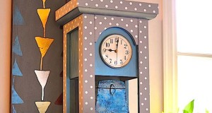 Revamp a Grandfather Clock with Stencils
