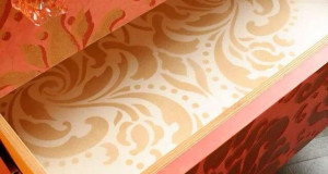 Stenciled Surprises are Great Painted Furniture Ideas!