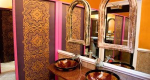 Moroccan Inspired Stenciling in Historic Charleston