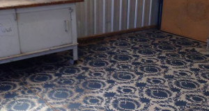 7 Stylish Stenciled Concrete Floor Finishes within Your Budget!