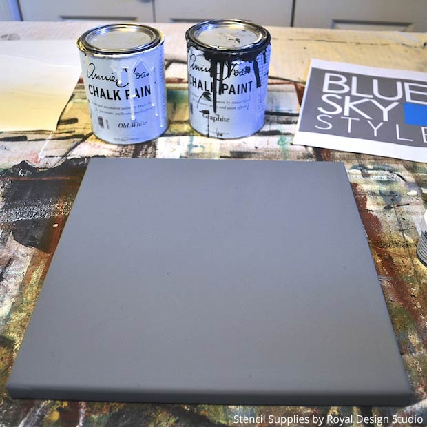 Stencil Tutorial - How to Paint a DIY Office Sign