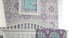 5 Baby Room Décor Accent Walls Ideas with Nursery Stencils
