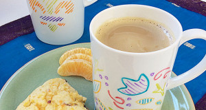 DIY Stenciled Morning Cuppa Creativity