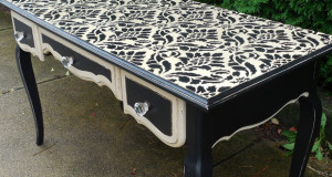 Chalking Up the Secret to Vintage Furniture Stencils