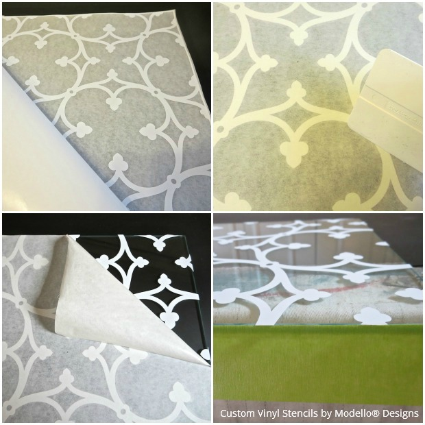 How to etch glass with custom vinyl stencils - Modello stencils