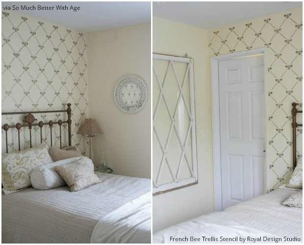 9 Bee Stencil Projects To Inspired By Royal Design Studio