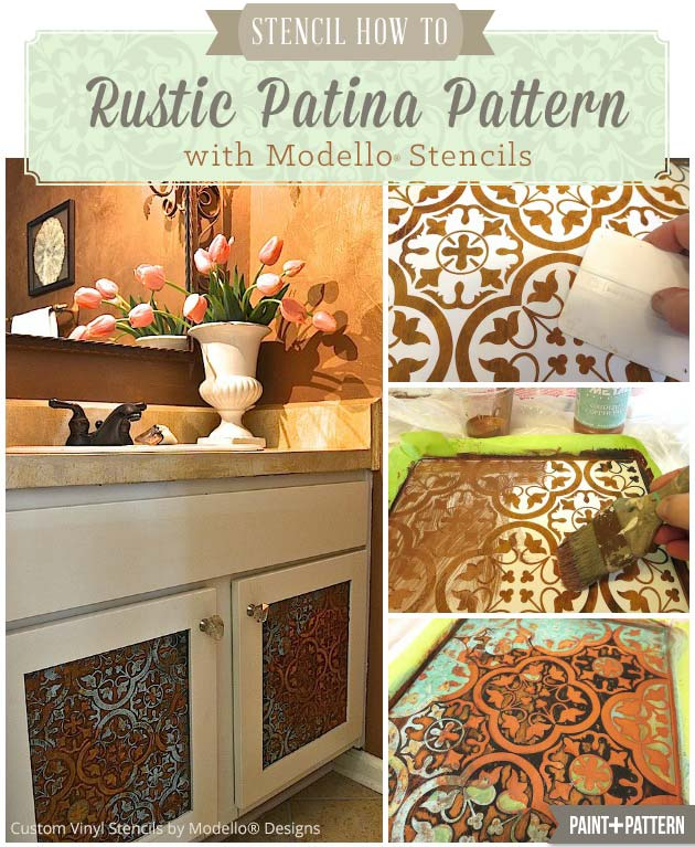 Stencil-How-To-Rustic-PatinaPattern