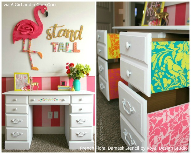 7 Days of DIY Stencil Projects with Porch.com and Royal Design Studio Stencils