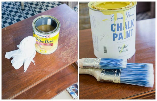 How to paint and stencil a table with Chalk Paint®