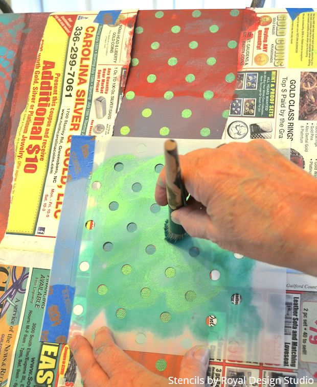Painter's Paradise: Stenciled Wall Art Tutorial for Your Colorful Personality