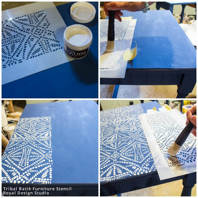Top 6 Favorite DIY Stencil How To's of the Year You Need to See and Try Yourself! Stencils by Royal Design Studio