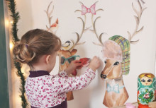 Easy Christmas Decorating with Wallternatives Wall Decals