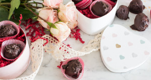 Sweetly Stenciled Valentine's Day Candy Boxes