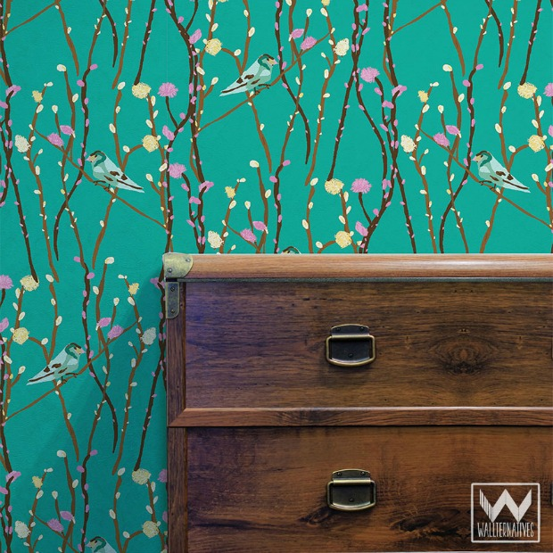 Stunning Removable Wallpaper For Apartments Gallery - Interior ...