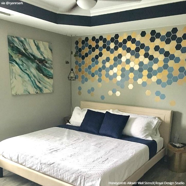 Break Free with Deconstructed Stenciling Paint