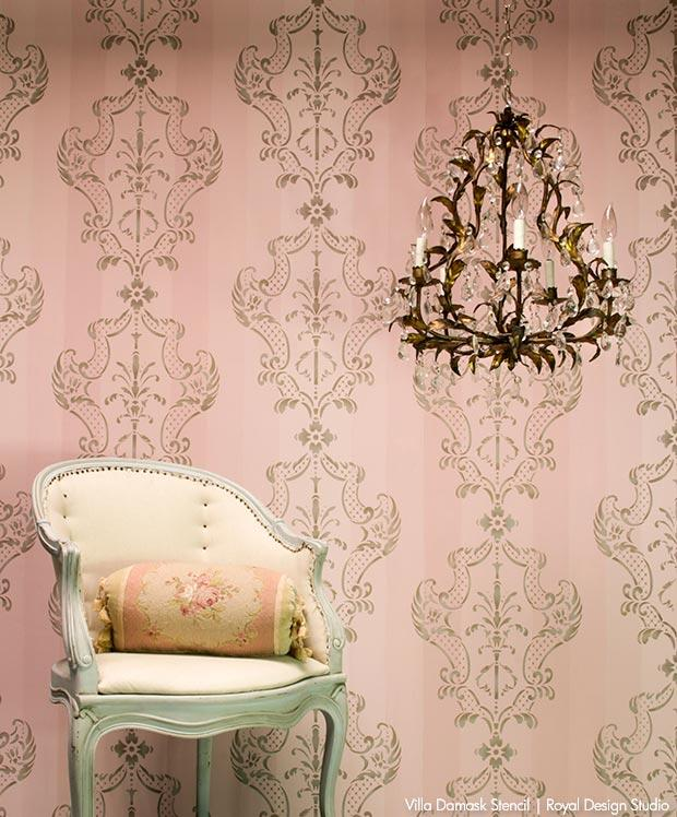 La Vida Dolce: Italian Style Decorating with Stencils - DIY Wall and Furniture Interior Design Ideas